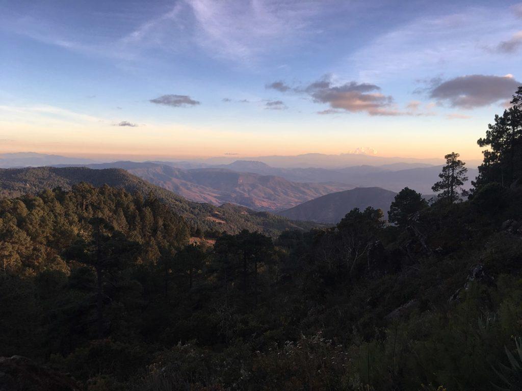Sierra Norte de Oaxaca Sunrise and sunset photography tours salud