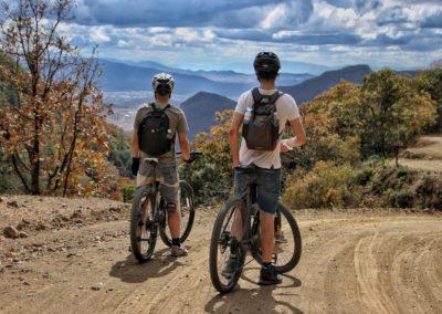 Scenic Bike Ride from La Sierra to Oaxaca City