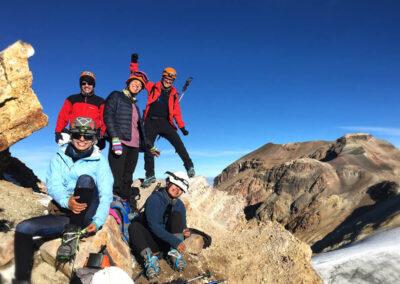 Expedición al Iztaccíhuatl