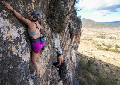 The Rock Climbing Experience