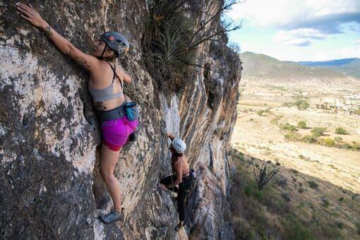 Climbing Tlacochahuaya.Climbing.Coyote oaxaca mexico