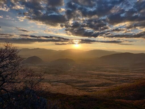 MTB sunset-hiking-Teotitlán-Picacho-oaxaca mexico
